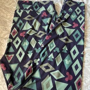LulaRoe Disney Diamond Leggings